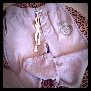 Abercrombie & Fitch Pants - ABERCROMBIE sweatpants M grey